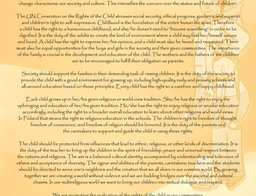 The Joint Declaration of the CORE forum on The United Nations Convention on the Rights of the Child (UNCRC) at the 20 years Jubilee in 2009