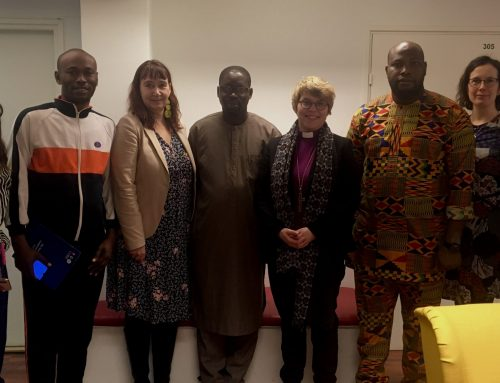 Nigerialainen delegaatio vieraili USKOT-foorumissa